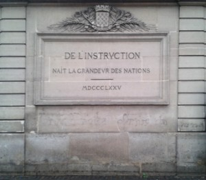 De l'instruction
